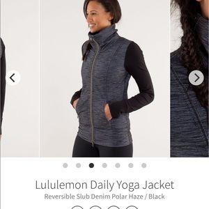 Tops - Lululemon daily yoga sweatshirt. Size 2